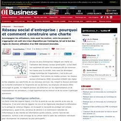 Réseau social d'entreprise : pourquoi et comment construire une charte