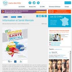 Réseau CHU:Information et Santé Mentale