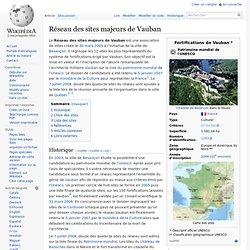 Réseau des sites majeurs de Vauban