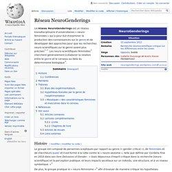 Réseau NeuroGenderings