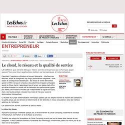Le cloud, le réseau et la qualité de service
