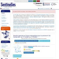 Réseau Sentinelles > France > Accueil