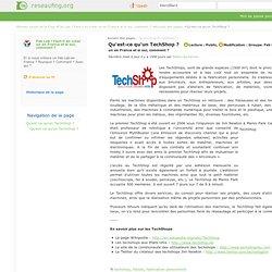 Qu'est-ce qu'un TechShop ?