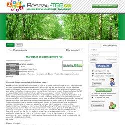 Réseau-TEE.net - Offre d'emploi