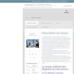 Réseaux d'affaires de QARNOT COMPUTING