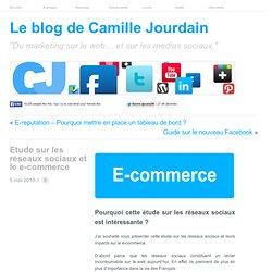 Etude sur les réseaux sociaux et le e-commerce