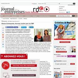 Réseaux - Réseau Entreprendre. Nouveau soutien pour les PME