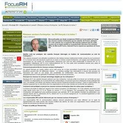 Réseaux sociaux d'entreprise : les RH français à la traine ?