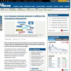 Les réseaux sociaux peinent à séduire les entreprises françaises