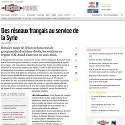 Des réseaux français au service de la Syrie