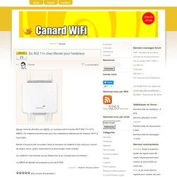 Réseaux Mesh - Canard WiFi, premier blog français sur les technologies sans fil (Wi-Fi, WiMAX, …)
