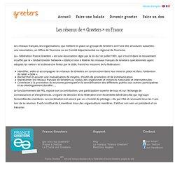 Les réseaux de «Greeters» en France