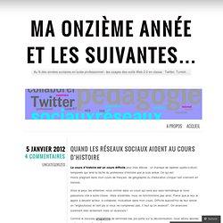 Tumblr et Twitter pour échanger, contribuer, informer, socialiser