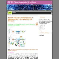 JDD 2011 Réseaux sociaux et identité numérique
