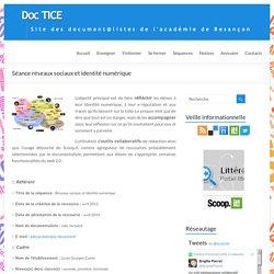[Séance] réseaux sociaux et identité numérique – DocTICE