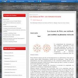 Les réseaux de Petri: une méthode innovante - Le blog de christine balague