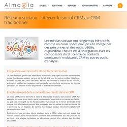 Réseaux sociaux : intégrer le social CRM au CRM traditionnel