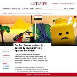 Sur les réseaux sociaux, le succès du journalisme de «petites bouchées»