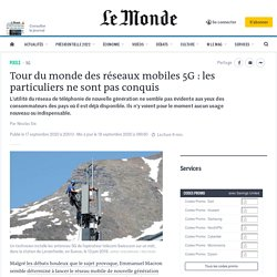 Tour du monde des réseaux mobiles 5G : les particuliers ne sont pas conquis
