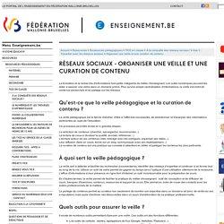 Réseaux sociaux - Organiser une veille et une curation de contenu
