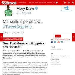PSG/RéSEAUX SOCIAUX - Des Parisiens «rattrapés» par Twitter