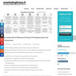 Le Guide des 8 Réseaux Sociaux Principaux pour les Entreprises