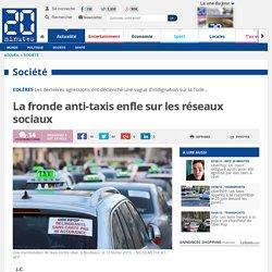 La fronde anti-taxis enfle sur les réseaux sociaux