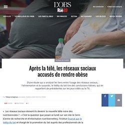Après la télé, les réseaux sociaux accusés de rendre obèse