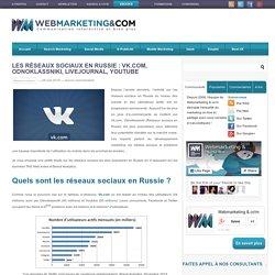 Les réseaux sociaux en Russie: l'analyse d'audience