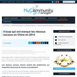 9 buzz qui ont marqué les réseaux sociaux en Chine en 2014