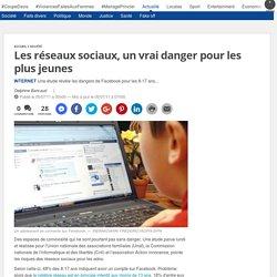 Les réseaux sociaux, un vrai danger pour les plus jeunes
