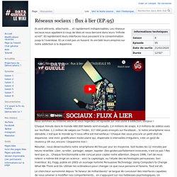 Réseaux sociaux : flux à lier (EP.95) — Wiki Datagueule