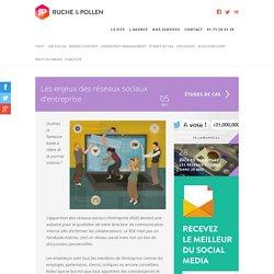 Les enjeux des réseaux sociaux d'entreprise