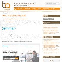 Yammer, le 4×4 des réseaux sociaux d'entreprise