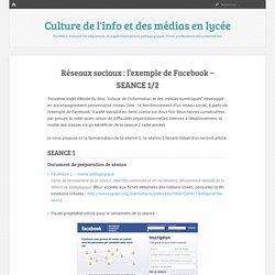 Réseaux sociaux : l'exemple de Facebook