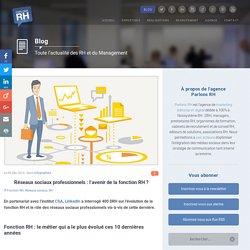 Réseaux sociaux pro : l'avenir de la fonction RH