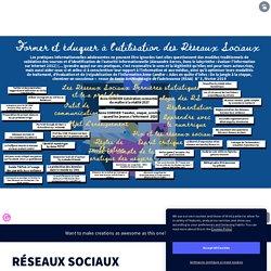 RÉSEAUX SOCIAUX by CDI Césaire on Genially