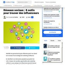 Réseaux sociaux : 8 outils pour trouver des influenceurs