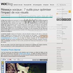 Réseaux sociaux: outils d'édition d'images Le Blog Officiel de Wix.com