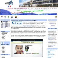 Réseaux sociaux - Edmodo: 1er réseau social pédagogique