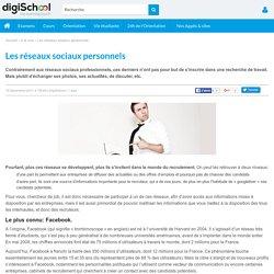 Tout ce qu'il faut savoir sur les réseaux sociaux personnels