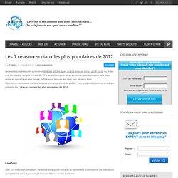 Les 7 réseaux sociaux les plus populaires de 2012