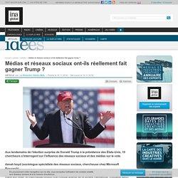 Médias et réseaux sociaux ont-ils réellement fait gagner Trump