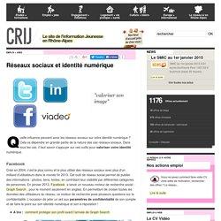 Emploi - Réseaux sociaux et e-réputation │ CRIJ Lyon Rhône