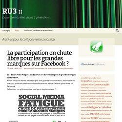 » réseaux sociaux RU3