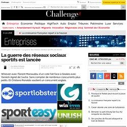 La guerre des réseaux sociaux sportifs est lancée
