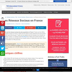 ▶ Les Réseaux Sociaux en France : Les statistiques