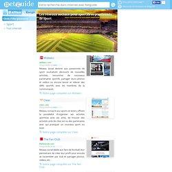 Les réseaux sociaux pour sportifs et passionnés de sport