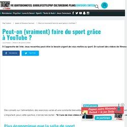 Applis & Réseaux Sociaux : Peut-on (vraiment) faire du sport grâce àYouTube? - L'Etudiant Trendy