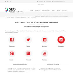 White Label Social Media Reseller Program